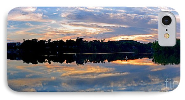 Mirror Mirror On The Water IPhone Case by Sue Stefanowicz