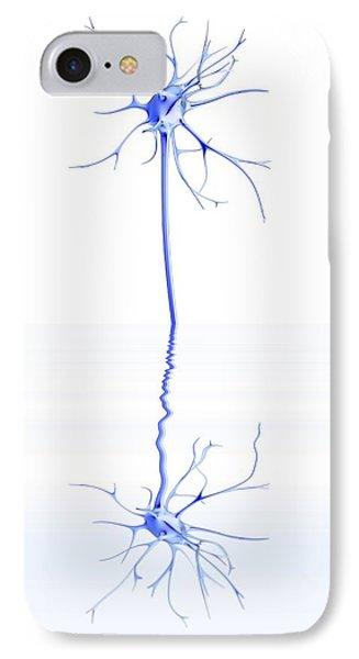 Mirror Neuron, Conceptual Image Phone Case by Pasieka