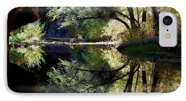 IPhone Case featuring the photograph Mirror Reflection by Tam Ryan