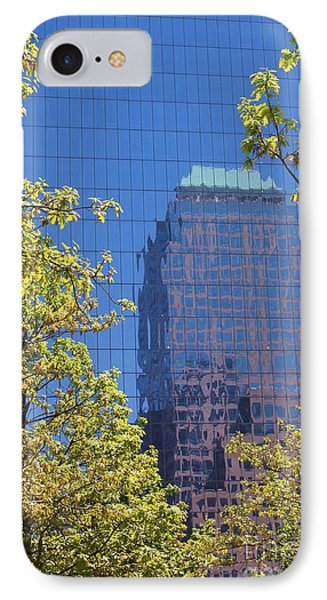 IPhone Case featuring the photograph Mirror Reflections by Laurinda Bowling