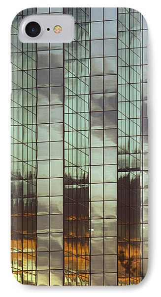 Mirrored Building Phone Case by Mark Greenberg