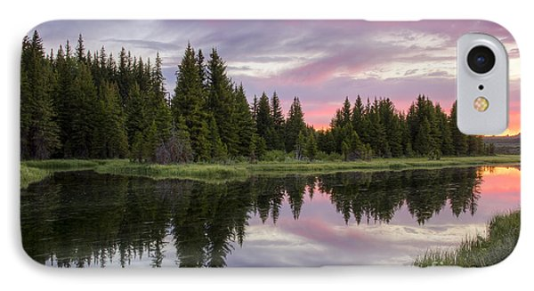 Mirrored Dawn Phone Case by Idaho Scenic Images Linda Lantzy