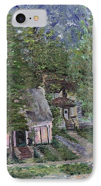 IPhone Case featuring the painting Misfit Summerhome by Denny Morreale