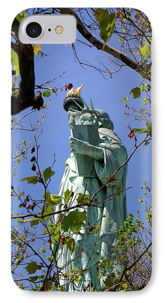 IPhone Case featuring the photograph Miss Liberty by Paul Mashburn