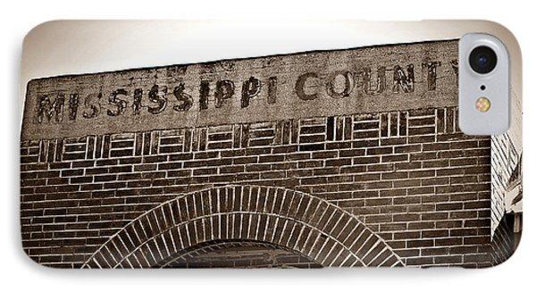 Missco High School In Arkansas IPhone Case by KayeCee Spain