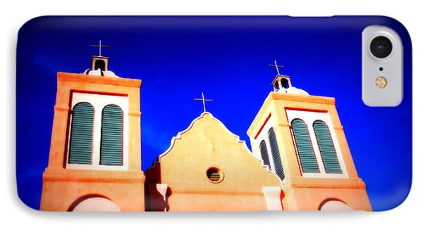 Mission Church Silver City Nm Phone Case by Susanne Van Hulst