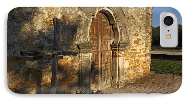 IPhone Case featuring the photograph Mission Espada by Susan Rovira