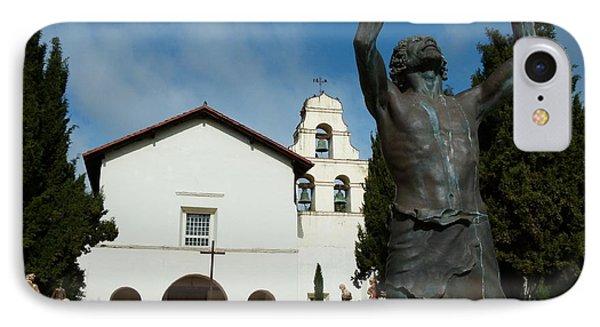 Mission San Juan Bautista Phone Case by Jeff Lowe