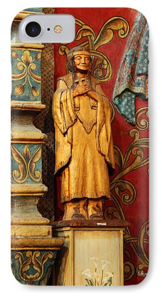 Mission San Xavier Del Bac - Interior Detail II Phone Case by Suzanne Gaff