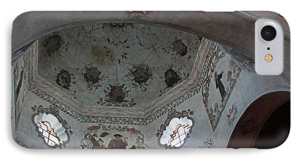 Mission San Xavier Del Bac - Vaulted Ceiling Detail Phone Case by Suzanne Gaff