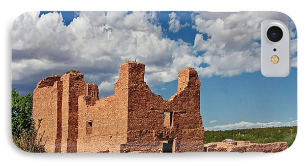 Mission To Quarai New Mexico Phone Case by Christine Till