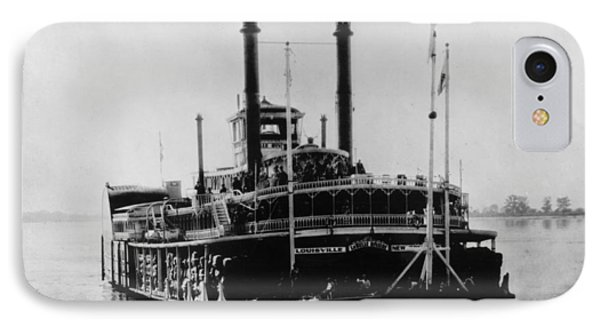 Mississippi Steamboat, 1926 Phone Case by Granger