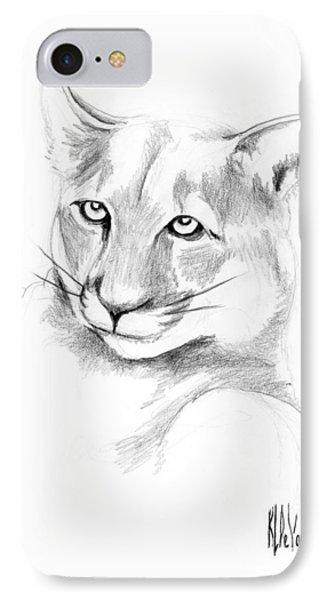 Missouri Mountain Lion  Phone Case by Kip DeVore