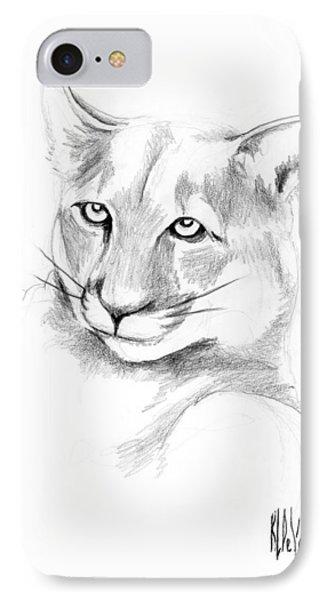 Missouri Mountain Lion  IPhone Case by Kip DeVore