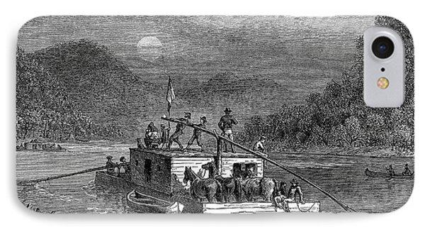 Missouri River: Flatboat Phone Case by Granger