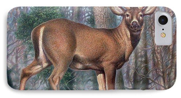 Missouri Whitetail Deer IPhone Case by Hans Droog