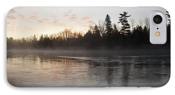Mist Over The Mississippi IPhone Case
