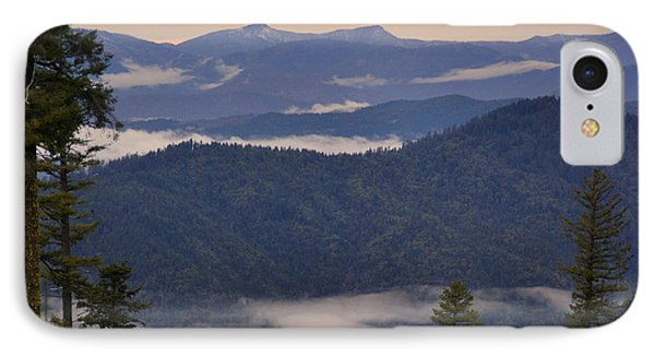 IPhone Case featuring the photograph Mists In The Siskiyou Mountains by Mick Anderson