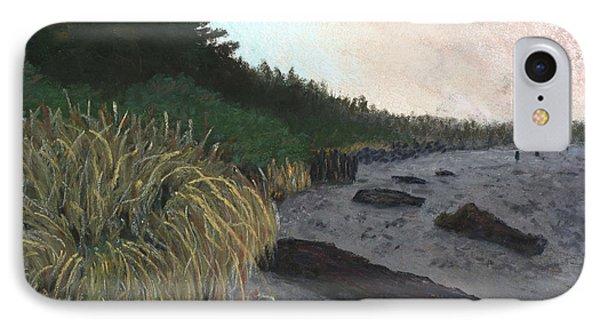 Misty Beach Phone Case by Ginny Neece