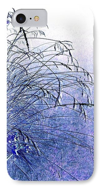 Misty Blue Phone Case by Will Borden