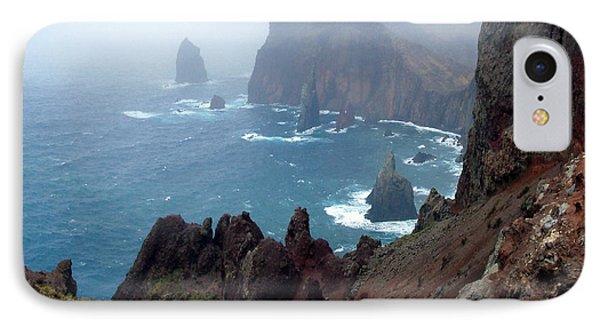 Misty Cliffs Phone Case by John Chatterley