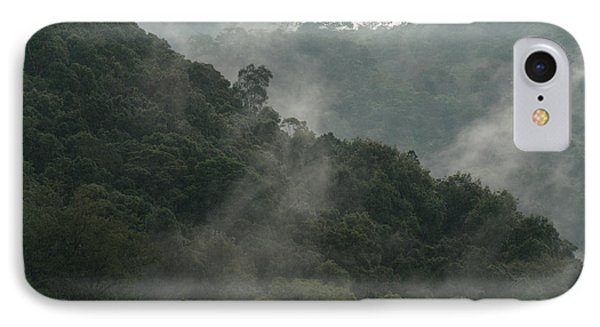 IPhone Case featuring the photograph Misty Cloud Forest Matagalpa Nicaragua by John  Mitchell