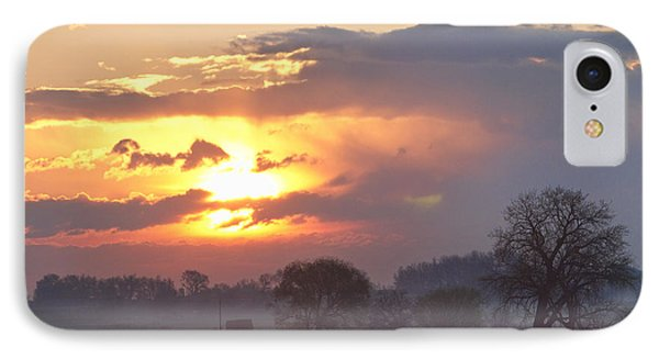 Misty Country Sunrise  Phone Case by James BO  Insogna