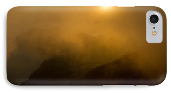 Misty Hongpo Sunset South Korea Phone Case by Gabor Pozsgai