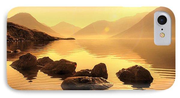 Misty Lake Phone Case by Svetlana Sewell