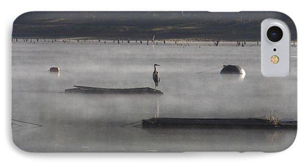 Misty Morning At Lake Wilhelmina Phone Case by Douglas Barnard