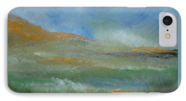 IPhone Case featuring the painting Misty Morning by Judith Rhue