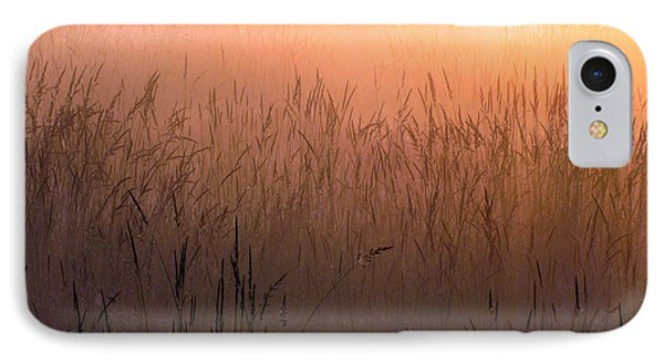 IPhone Case featuring the photograph Misty Sunrise by I'ina Van Lawick