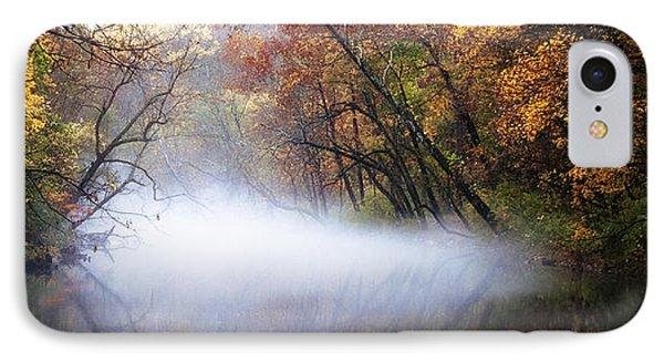 Misty Wissahickon Creek Phone Case by Bill Cannon