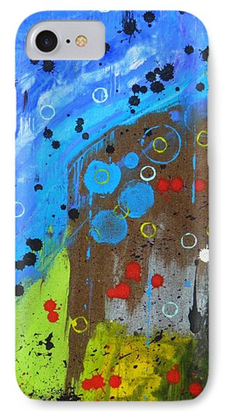 IPhone Case featuring the painting Mix It Up by Everette McMahan jr