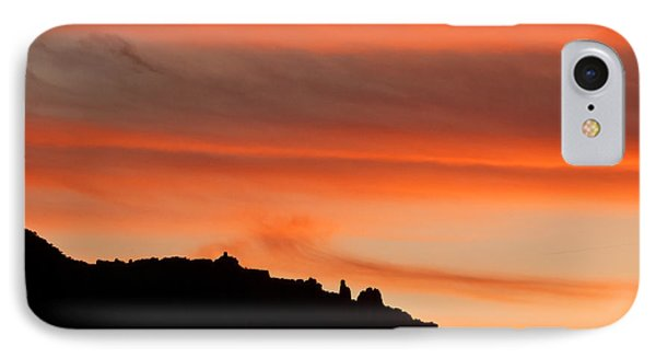 Moab Rim Sunset Phone Case by Bob and Nancy Kendrick
