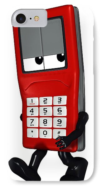 Mobile Phone Cartoon Character IPhone Case