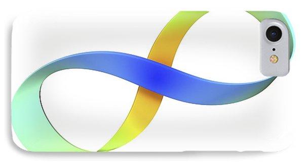 Mobius Strip, Computer Artwork IPhone Case by Pasieka