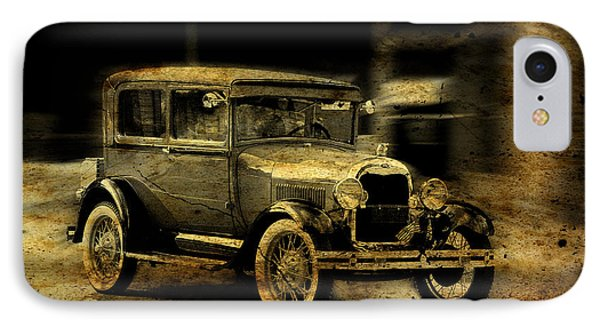 Model T No. 3 IPhone Case by Janice Adomeit