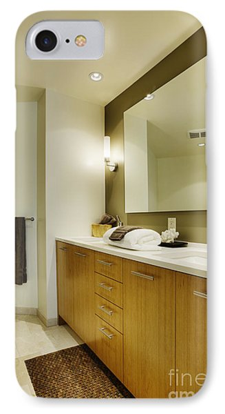 Modern Bathroom Interior Phone Case by Andersen Ross