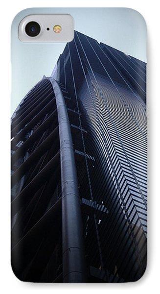 Modern Building In Tokyo IPhone Case by Naxart Studio