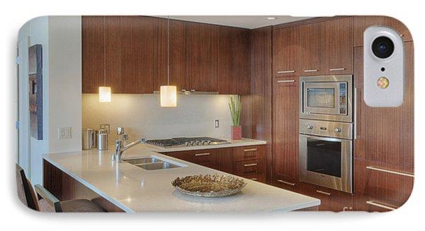 Modern Kitchen Interior Phone Case by Andersen Ross