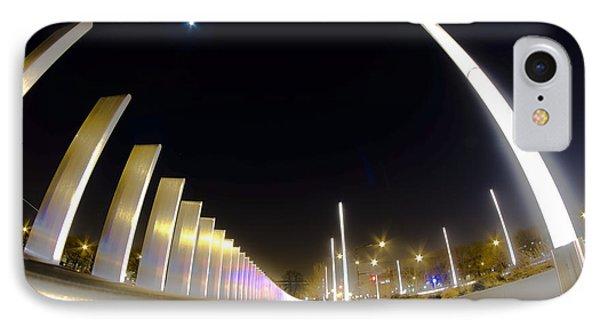 Modern Street Lighting IPhone Case by Sven Brogren