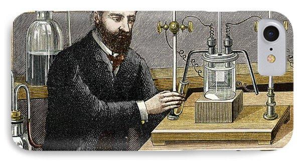 Moissan Isolating Fluorine, 1886 IPhone Case