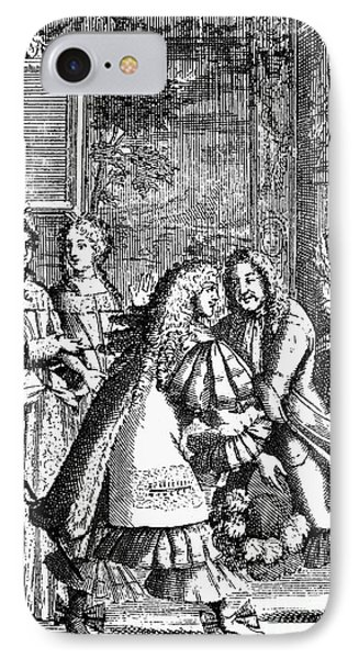 Moliere: Pr�cieuses, 1682 Phone Case by Granger