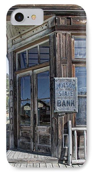 Molson Washington Ghost Town Bank IPhone Case
