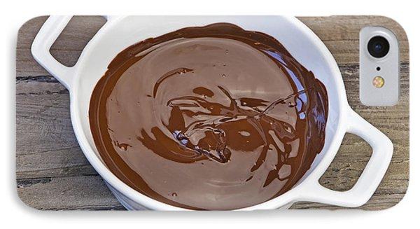 Molten Chocolate Phone Case by Joana Kruse