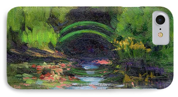 Momet's Water Lily Garden Toward Evening IPhone Case by Diane McClary