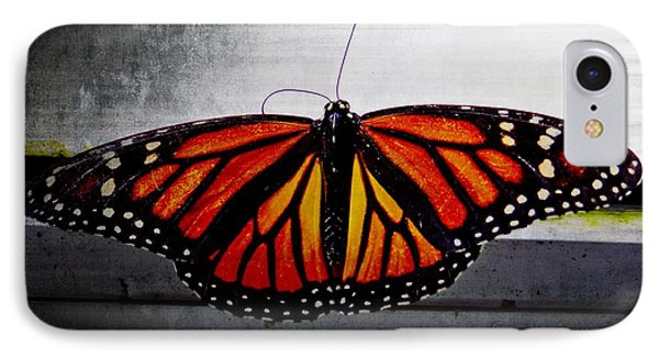 IPhone Case featuring the photograph Monarch by Julia Wilcox