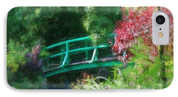 Monet's Garden IPhone Case by Diana Haronis
