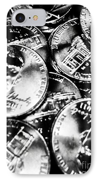 Money Phone Case by Ronnie Glover